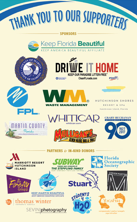 Keep Florida Beautiful 2017 Sponsor Logos | Keep Florida Beautiful Blog