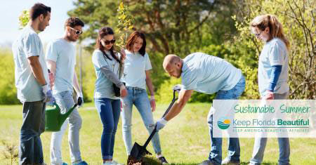 5 Tips for a Sustainable Summer: Plant a Tree | Keep Florida Beautiful Blog