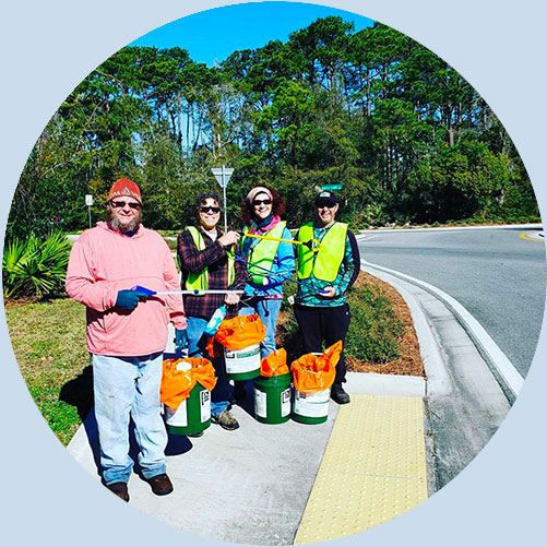 Keep Florida Beautiful Volunteers | Keep Florida Beautiful: Litter Prevention, Recycling, and Education