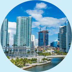 Florida Cityscape | Help Keep Florida Beautiful - Learn More about Corporate Membership Opportunities