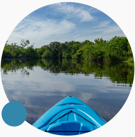Kayaking in a Florida reserve | Environmental Education with Keep Florida Beautiful Litter Prevention, Recycling, and Education