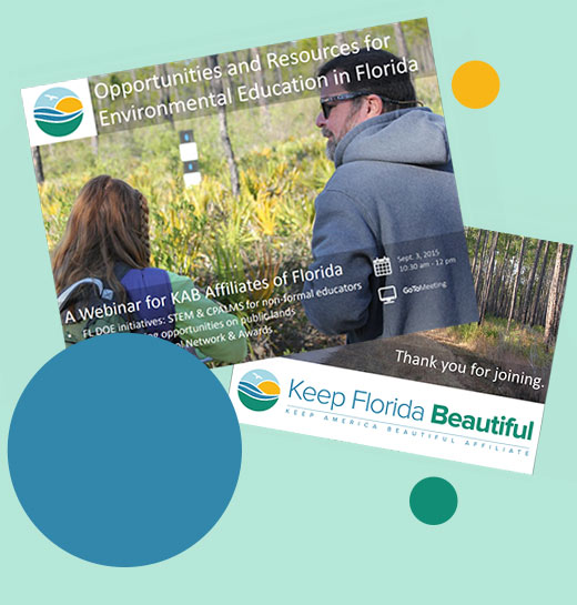 Webinar Preview Image | Keep Florida Beautiful: Litter Prevention, Recycling, and Education