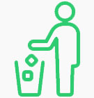 Trash Disposal Icon | Keep Florida Beautiful Litter Prevention Education Initiatives