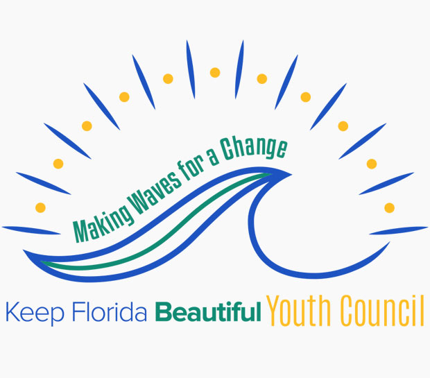 Making Waves for Change Youth Council Logo | Keep Florida Beautiful