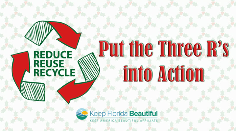 Recycling Icon with the Put the Three R's Into Action | Keep Florida Beautiful Blog