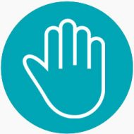 Hand Icon | Keep Florida Beautiful: Litter Prevention, Recycling, and Education