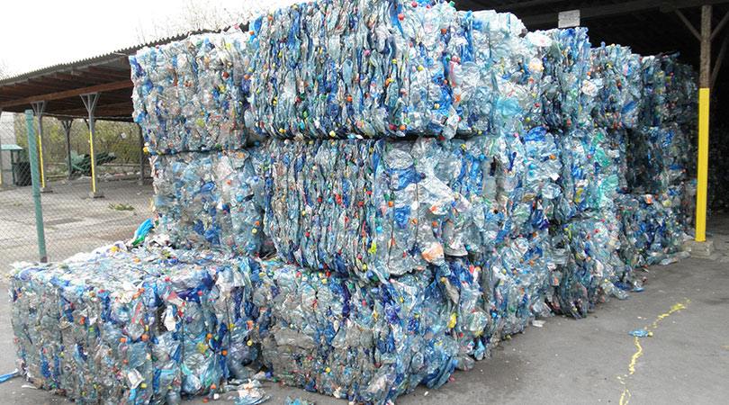 Image of Clean, Compacted Recycled Plastic | Keep Florida Beautiful Blog